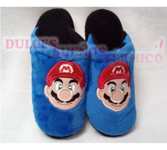 Pantuflas Mario Bross
