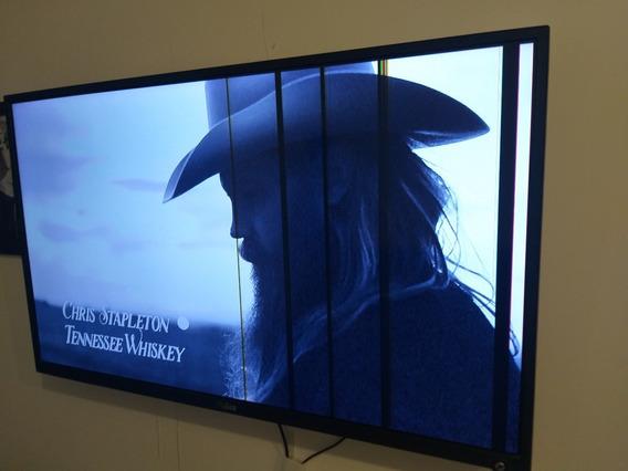 Tv Led 42 Philco Com Riscos Na Tela (não É Smart) Ph42m Led