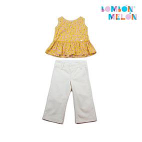 Bombón Melon - Outfit Blusa Flores De Colores, Talla 6