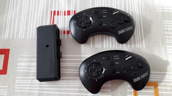 Controle Wireless Sem Fio Akklaim Mega Drive 3 Botões #217