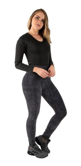 Kit 5 Calça Veludo Leg Feminina Cotelê Cintura Alta Inverno