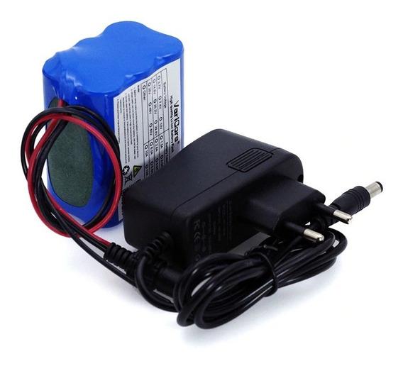 Bateria Varicore 12v 4.4a 4400 Mah 18650 + Carregador