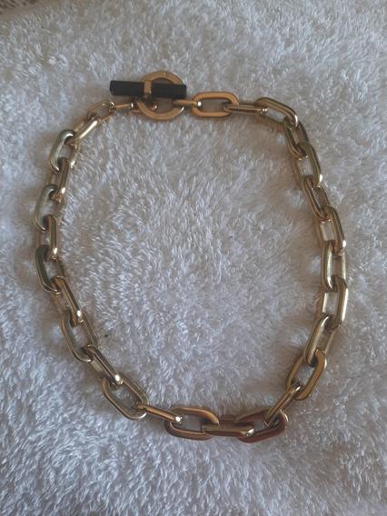 Collar De Cadena Michael Korss Dorado