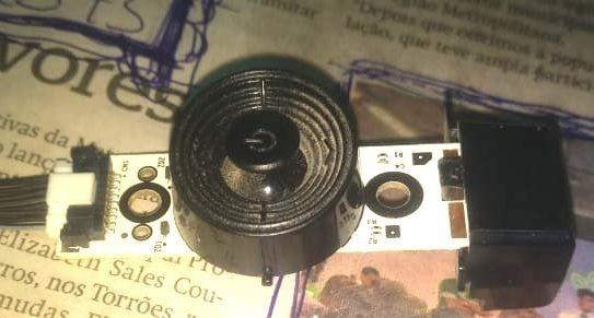 Sensor E Chave Comando Tv Samsung Un40 F5200ag