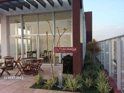 Studio Com 1 Dormitório Para Alugar, 36 M² Por R$ 1.635,00/mês - Vila Augusta - Guarulhos/sp - St0137