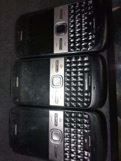 Lote 3 Celulares Nokia E5 3/19