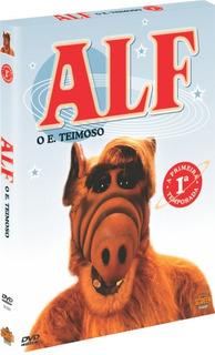 Box Original : Alf O Eteimoso - 1ª Temporada - 6 Dvds - Novo