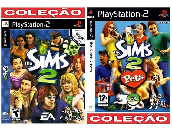 The Sims 2 + The Sims 2 Pets Ps2 Patch Simulaçâo De Vida