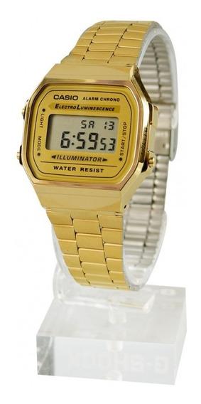 Relógio Casio Original A168wg-9df - Com Garantia