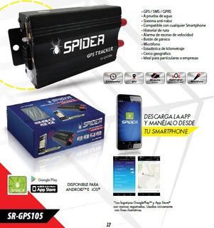 Gps Tracker Sistema De Localización Vehicular Sr-gps105