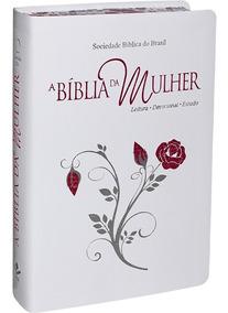 Bíblia Da Mulher Almeida Revista E Atualizada 17,0 X 25,0 Cm