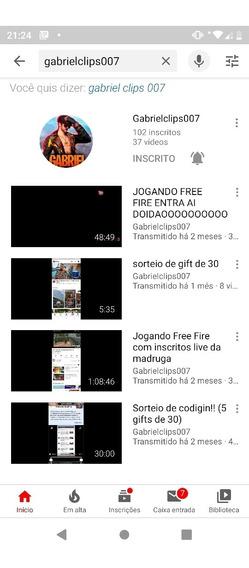 v| Vendo Canal No Youtube| v