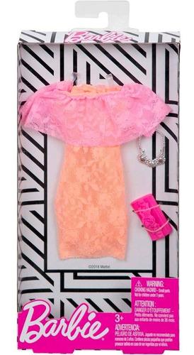Imagen 1 de 2 de Barbie Conjunto Ropa Y Accesorio -  Giro Didáctico