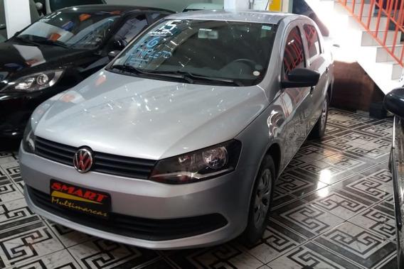 Volkswagen Voyage 1.6 Msi Trendline 2014/2015 Prata