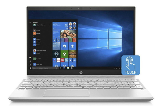 Notebook Hp Pavilion 15,6 I7-8565u 8gb Ddr4 Ssd 512gb Touch