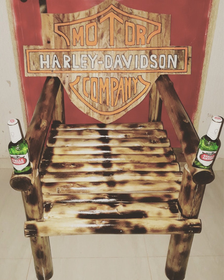 Cadeira Madeira Personalizada