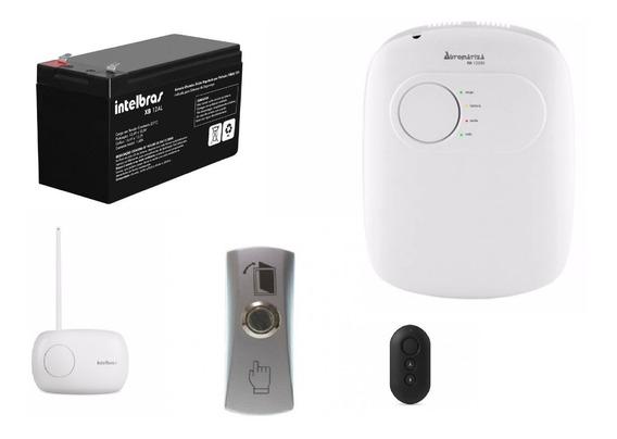 Kit Fa 1220s + Bateria 12al + Xar 3060 +botão Inox+ Xac 4000
