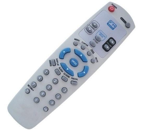 Controle Tv Gradiente G-29fm Tf-2951 / Tf-2952 / Tf-2152f