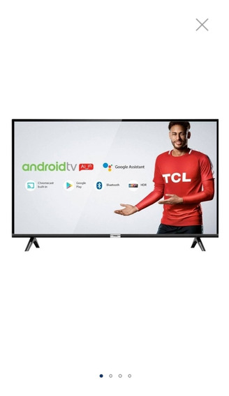 Smart Tv Led 43 Android 43s6500 Full-hd Tcl - Bivolt