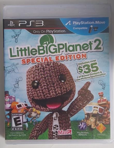 Littlebigplanet 2 Special Edition - Ps3 - Físico - Lacrado