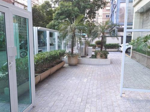 Imagem 1 de 15 de Oportunidae! Apartamento Com 1 Dormitório À Venda, 58 M² Por R$ 380.000 - Boqueirão - Santos/sp - Ap2399