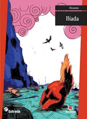 La Ilíada - Azulejos Rojo - Homero