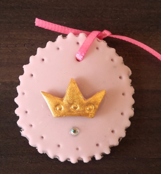 75 Corsages Distintivo De Princesa De Pasta Baby Shower