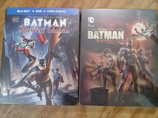 Batman Bad Blood / Batman Y Harley Queen (bluray Steelbook )