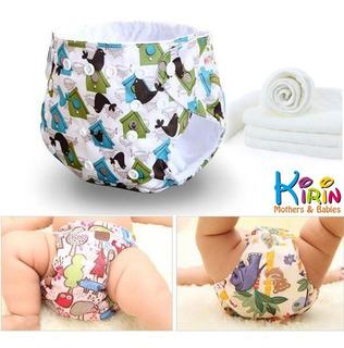 Pañal Ecológico Para Bebé Ajustable Cobertor Piscina Natar