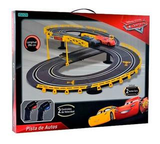 Cars Pista De Carreras 2 Controles Racing Ditoys