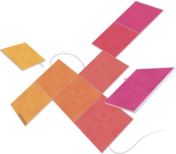 Paneles De Luz Nanoleaf Smarthome - Edicion Canvas - Pack 9