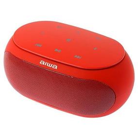 Speaker Aiwa Aw31 Bluetooth Vermelho