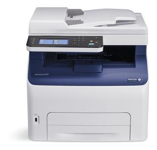 Impresora Laser Color Xerox 6027 Wifi Red Fax Escaner Copias