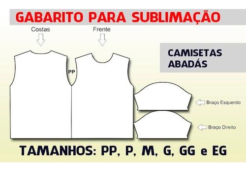 Gabarito Para Sublimação De Camisetas (moldes)