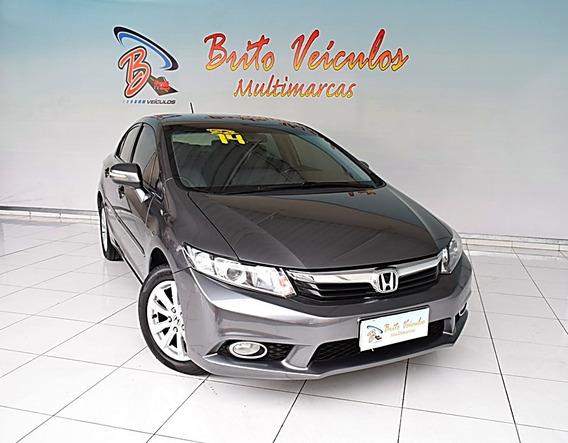 Honda Civic 2.0 Lxr 16v Flex 4p Automático 2014