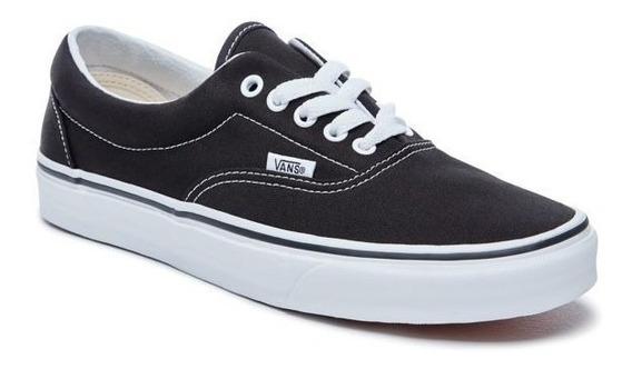 Zapatillas Vans Modelo Era Negro Coleccion 2019 Unisex