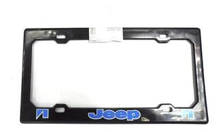 Porta Placa Plastico Jeep