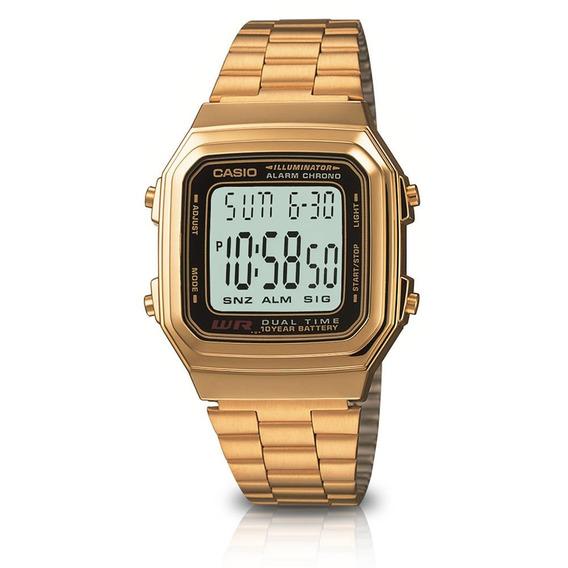 Relógio Casio Vintage Retro Modelo A178wga-1adf