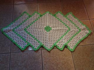 Tapetes De Croche Em Barbante