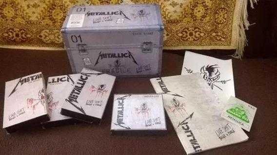 Caixa Limitada Metallica Live Shit: Binge & Purge / Completa