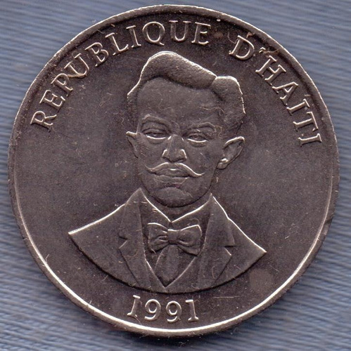 Haiti 50 Cents 1991 * Charlemagne Peralte *