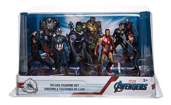 Marvel Avengers Endgame Set 9 Figuras Nuevo Disney Store