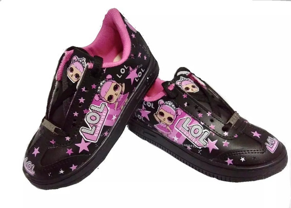 Zapatillas Nenas X 2 Pares !!! Personajes Lol, Unicornios!!!