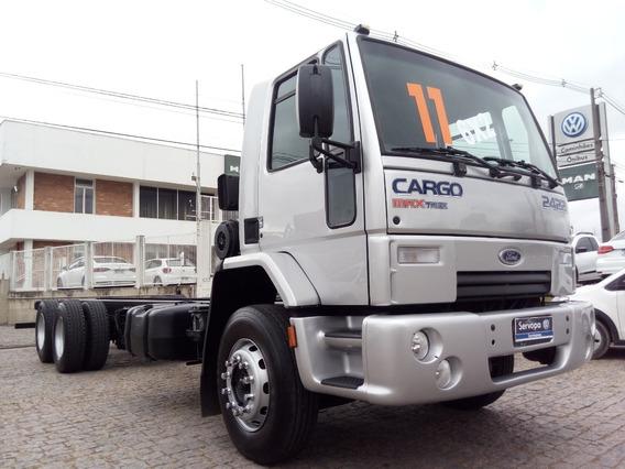 Ford Cargo 2422 E (6x2) Truck Ano 2011 - Reduzido - Chassi