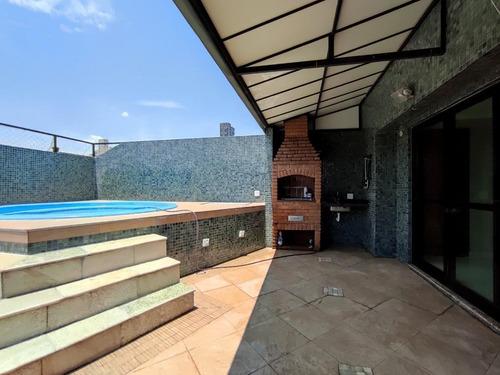 Imagem 1 de 28 de Cobertura Com 2 Dormitórios À Venda, 180 M² Por R$ 1.360.000,00 - Pompéia - Santos/sp - Co0039