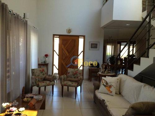 Imagem 1 de 30 de Casa Com 3 Dormitórios À Venda, 256 M² Por R$ 1.400.000,00 - Condomínio Ville De France - Itatiba/sp - Ca0881