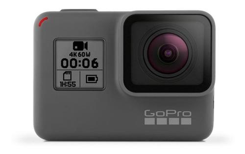 Câmera GoPro Hero6 4K  CHDHX-601 NTSC/PAL gray