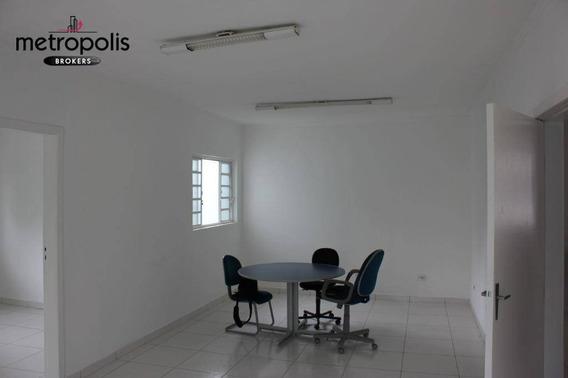 Casa Comercial Para Locação, Cerâmica, São Caetano Do Sul. - Ca0178