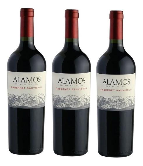 Vino Alamos Cabernet Sauvignon Pack X3