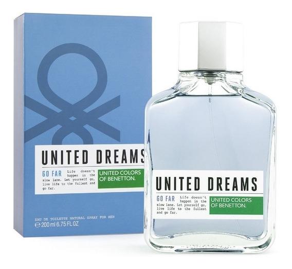United Dreams Go Far 200 Ml Edt Spray De Benetton